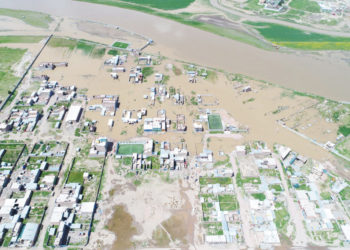 Urbanización San Carlos, afectada por inundaciones el 2018