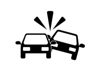 Car Accident icon vector icon. Simple element illustration. Car Accident symbol design. Can be used for web and mobile.