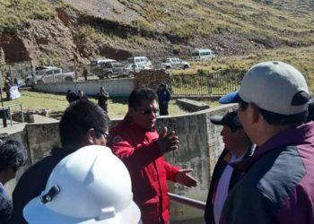 Walter Aduviri anunció la fiscalización durante visita a Progreso .- Asillo