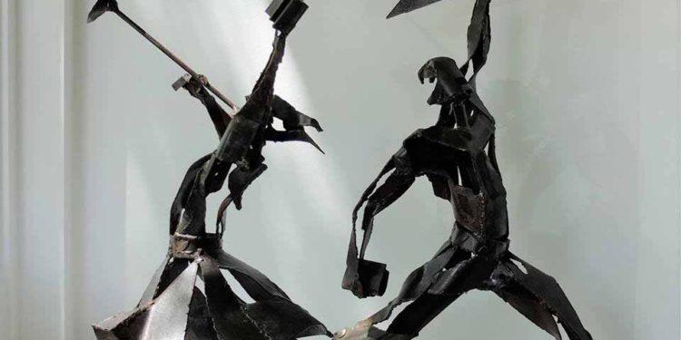 Peruko Ccopacaty, previa a su recepción en la Galería Skye en Estados Unidos de América.