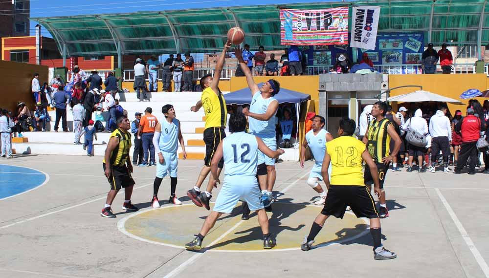 La fuerza del básquet - Los Andes Perú