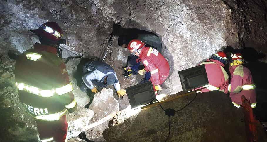 Tres personas murieron aplastadas en una planta yesera - Los Andes Perú