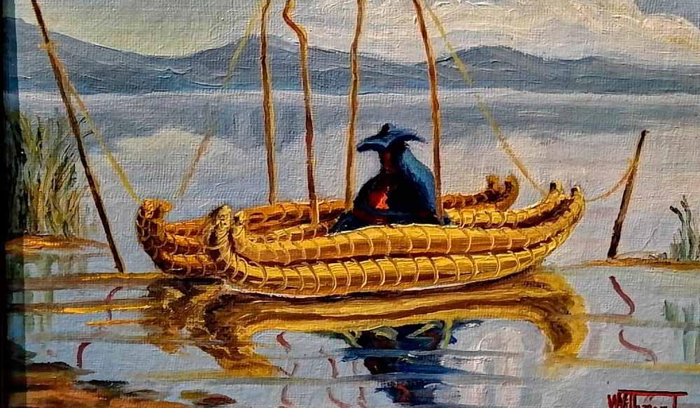 Wilver Villamar Talavera, pintor de la mística puneña - Los Andes Perú
