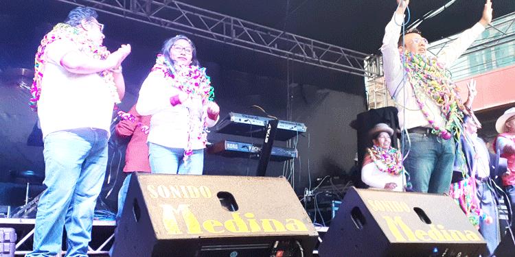 Candidatos del partido político Vamos Perú.
