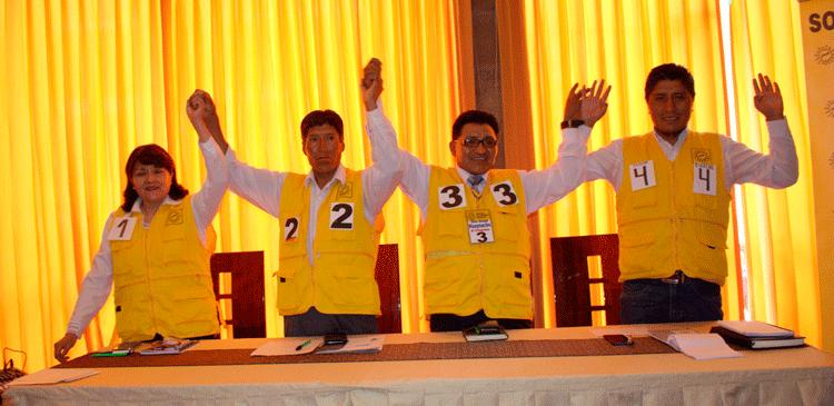 Candidatos por Puno de Solidaridad Nacional