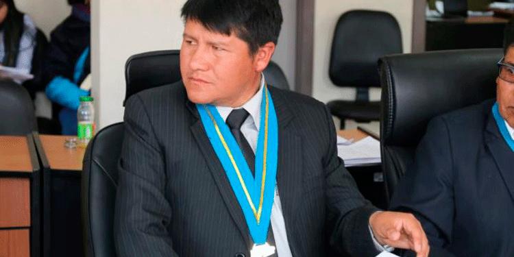 Foto: Asociación SER. Germán Alejo Apaza, consejero por la provincia de Huancané.