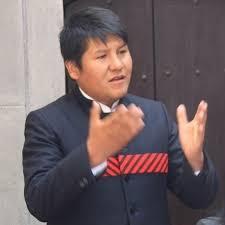 Germán Alejo consejero por Huancané.