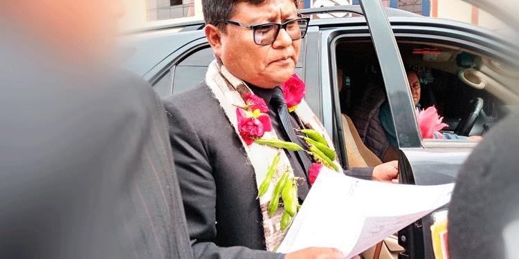 Gobernador Regional Encargado, Agustín Luque Chayña.