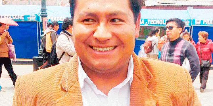 Consejero por Puno, Jorge Zúñiga.