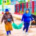 Vecinos participan activamente de las actividades de limpieza
