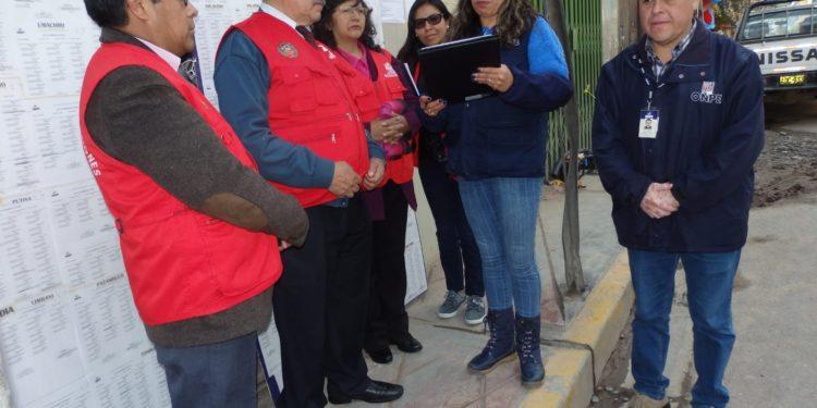 La ODPE San Roman publicó la lista de los miembros de mesa.