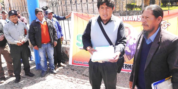 Mototaxistas desmienten acusaciones.