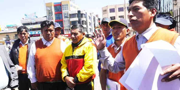 Mototaxistas denuncian favorecimiento a otras organizaciones.