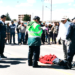 Mujer muere tras ser atropellada en carretera.