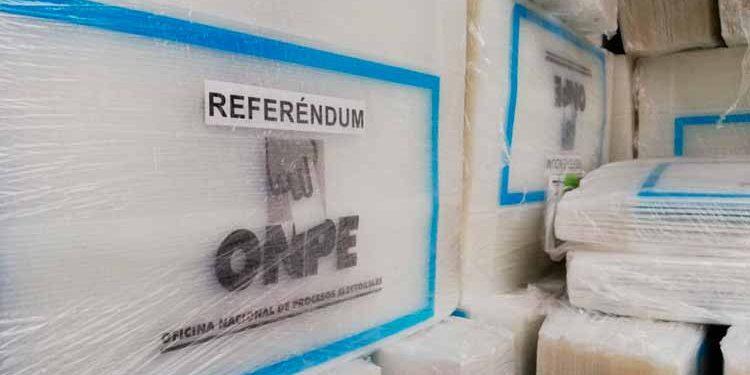 Material electoral. Foto: Andina/Difusión