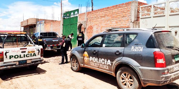 PNP y Fiscalia intervinieron el caso de alcalde del Distrito de Chupa.