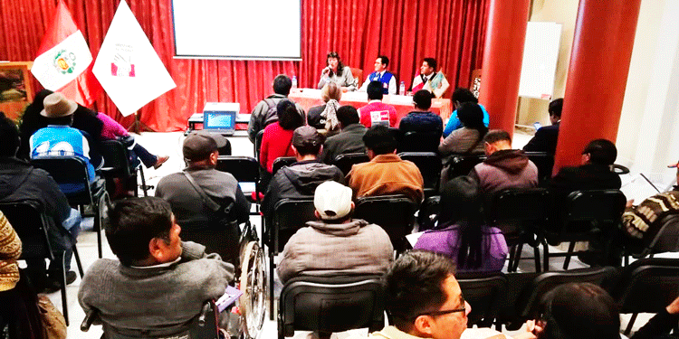 Personas con diferentes discapacidades participaron de la actividad.