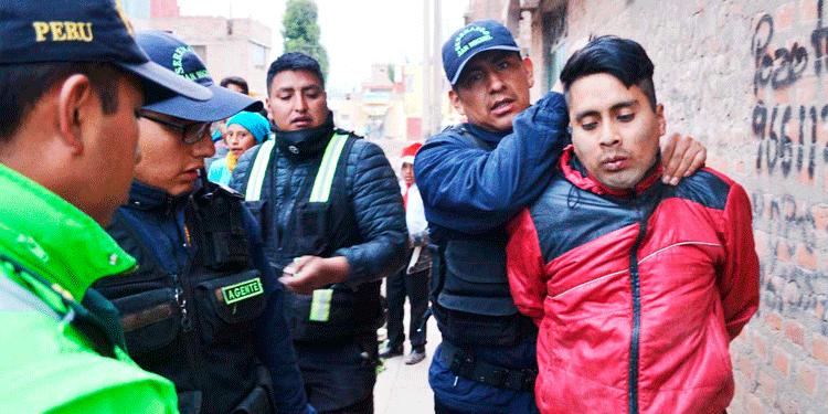 Serenazgo de San Miguel, capturo a un presunto violador.