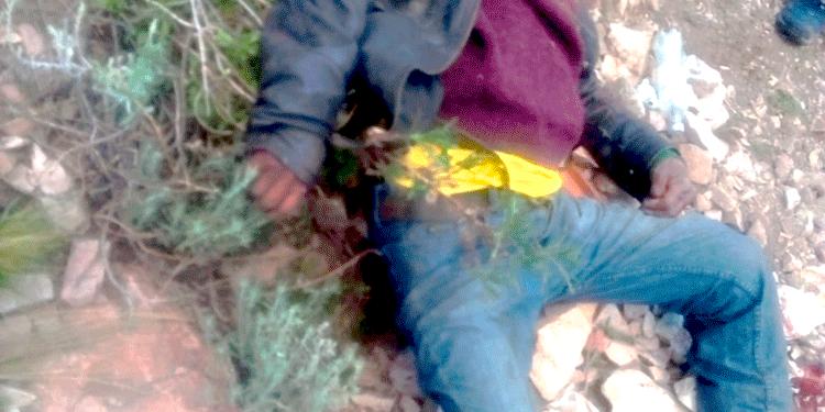 Varón de 61 años Cayo en un precipicio de 50 metros aproximadamente.