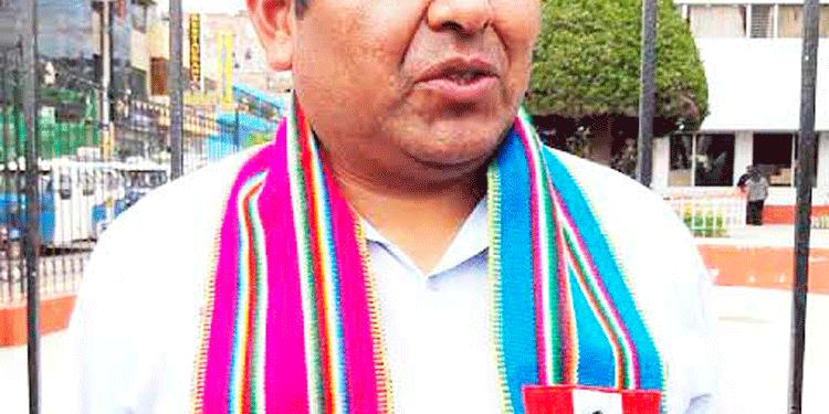 Walter Jilapa Santander candidato reacciona al llamado de deportista.