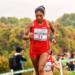 Wilma Arizapana, Representó al país en el mundial del atletismo.