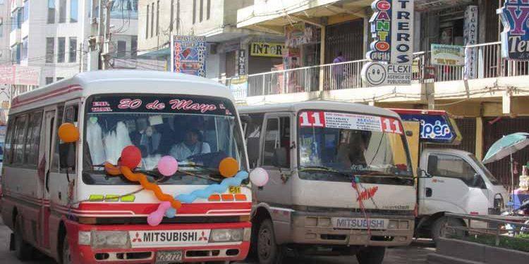 Zonas centricas son rutas saturadas para el transporte-