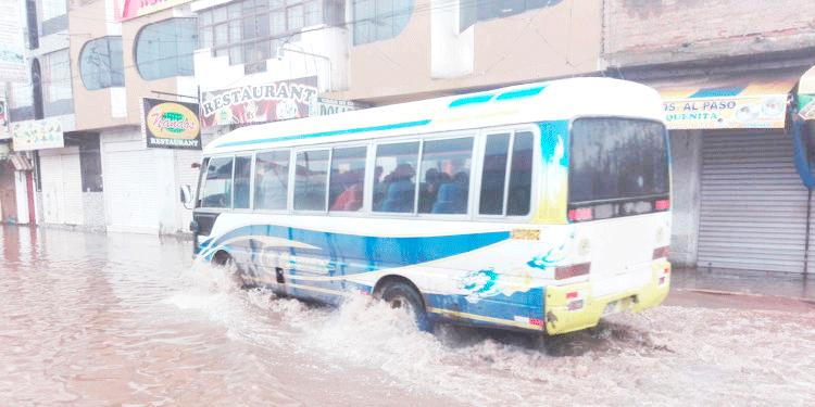 Lluvias en nuestra región