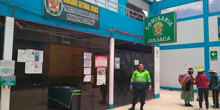 La denuncia fue realizada en la comisaria sectorial de Juliaca.