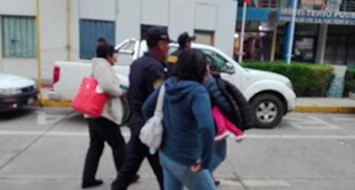 Dos mujeres detenidas por sustraer una menor.