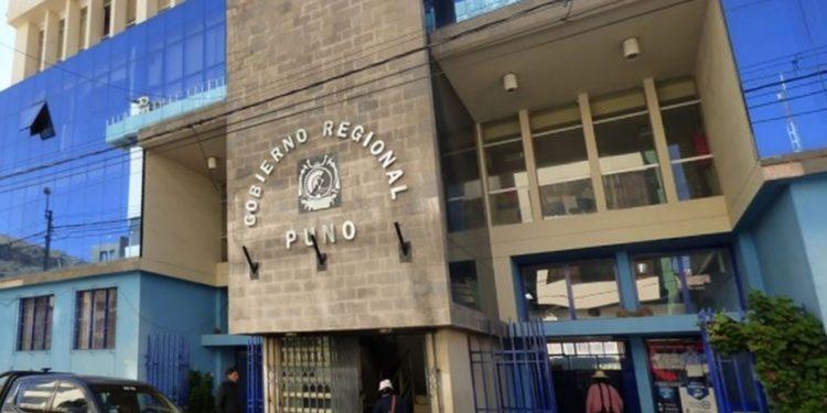 Instalaciones del Gobierno Regional de Puno