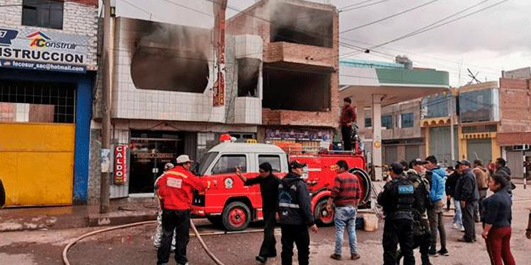 según indican, los inquilinos provocaron incendio