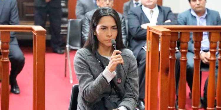 Melisa González permanece recluida en el penal Virgen de Fátima. (Foto: Poder Judicial)