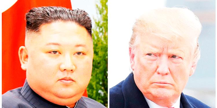 Las conversaciones entre Estados Unidos y Corea del Norte están estancadas, con un sombrío plazo hasta fin de año fijado por Pyongyang para que Washington haga algún tipo de concesión. En la imagen, Kim Jong-un (Derecha) y Donald Trump (Izquierda). (Foto: AFP/Archivo).