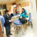 nueve  heridos fueron atendidos por los médicos de turno.