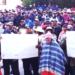 Pobladores de la provincia de El Collao-Ilave realizan movilización.
