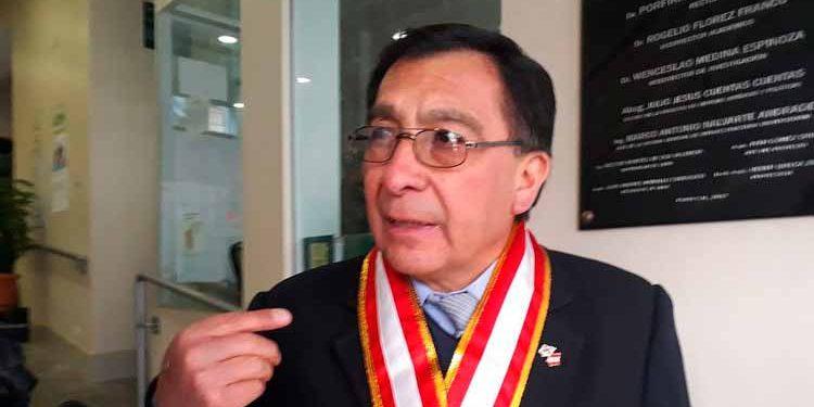 Rector de la UNA, Porfirio Enriquez Salas (Foto: Correo)