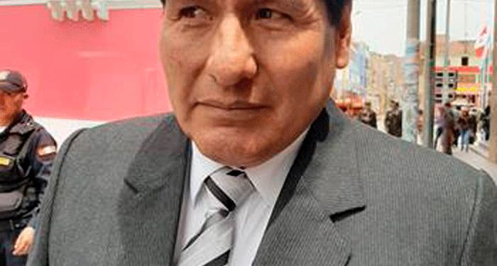 Regidor de Puno, Rogelio Pacompía Páucar.
