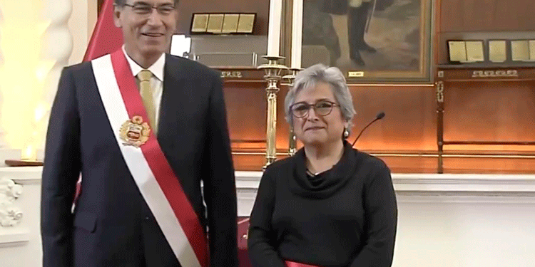 Arqueóloga Sonia Guillén asumió el cargo del Ministerio de Cultura. (Foto: Twitter)
