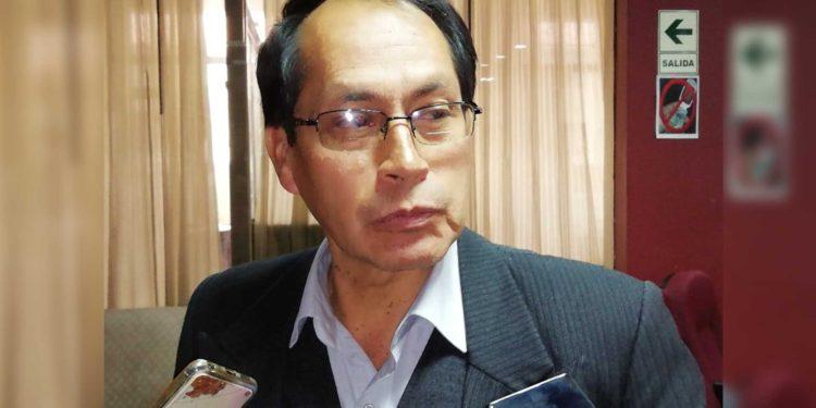 Dante Coasaca Nuñez, gerente general del Gobierno Regional de Puno.