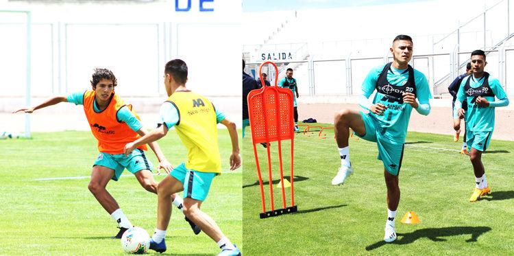 Concentrado para el debut ante Cusco FC y ya se volteó la página.