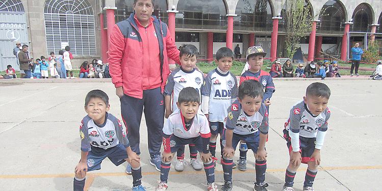Sub - 6, Club academia Deportiva Nacional.