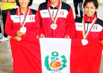 Noé Quispe es un joven atleta que a sus 19 años.