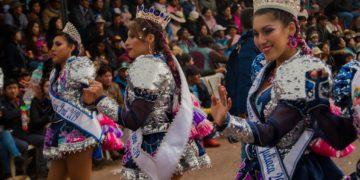 Caporales Virgen de la  Candelaria Vientos del Sur.