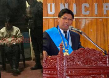 Oswaldo Marín, exalcalde de la Municipalidad Provincial de San Román.