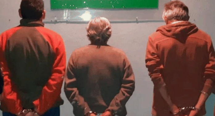 Arrestaron a los tres sospechosos de abuso sexual.