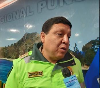 Adolfo Valverde, general de la Policía Nacional.