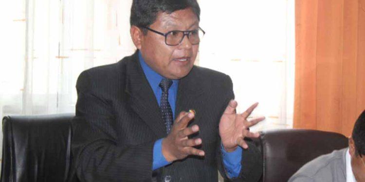 Agustín Luque, gobernador regional encargado de Puno.