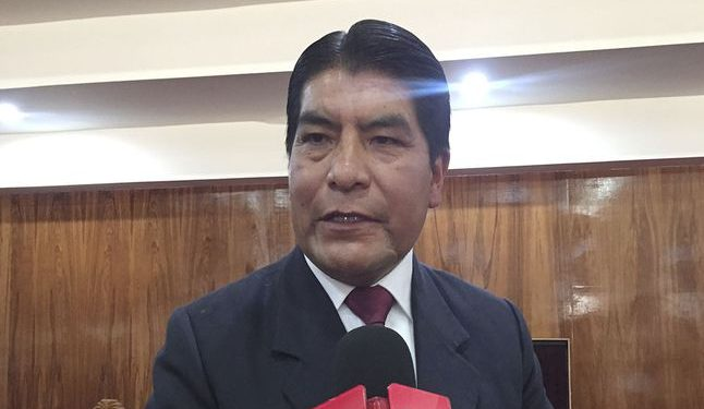 Alcalde de Puno, Martin Ticona Maquera.