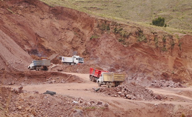 Así luce el Cerro Monos, ubicado en la salida Arequipa.
