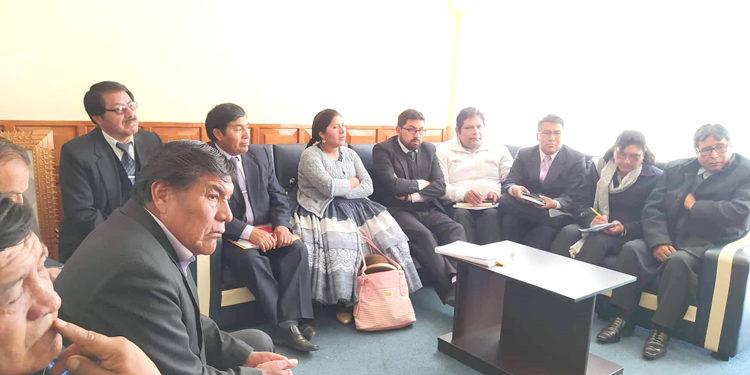 Autoridades de la provincia de El Collao,exigen que hospital de Ilave vuelva a su categoría 2-I.